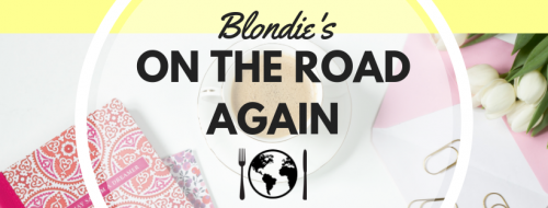 Blondies On The Road Again