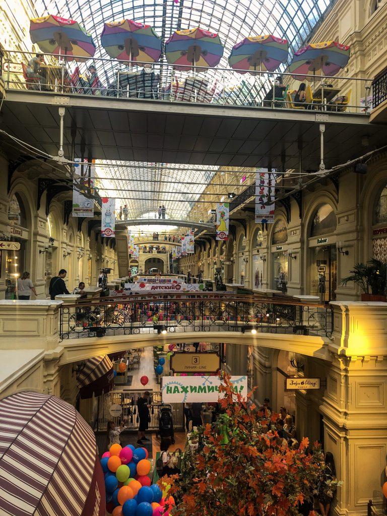 GUM alışveriş merkezi moskova