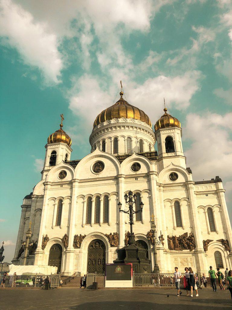Kurtarıcı İsa Katedrali moskova