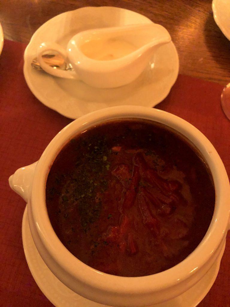 borsch çorbası moskova