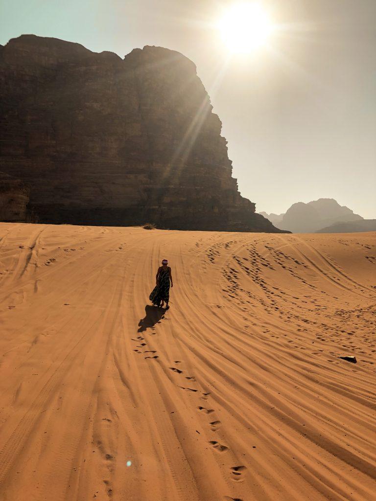 wadi rum gün batımı jeep turu