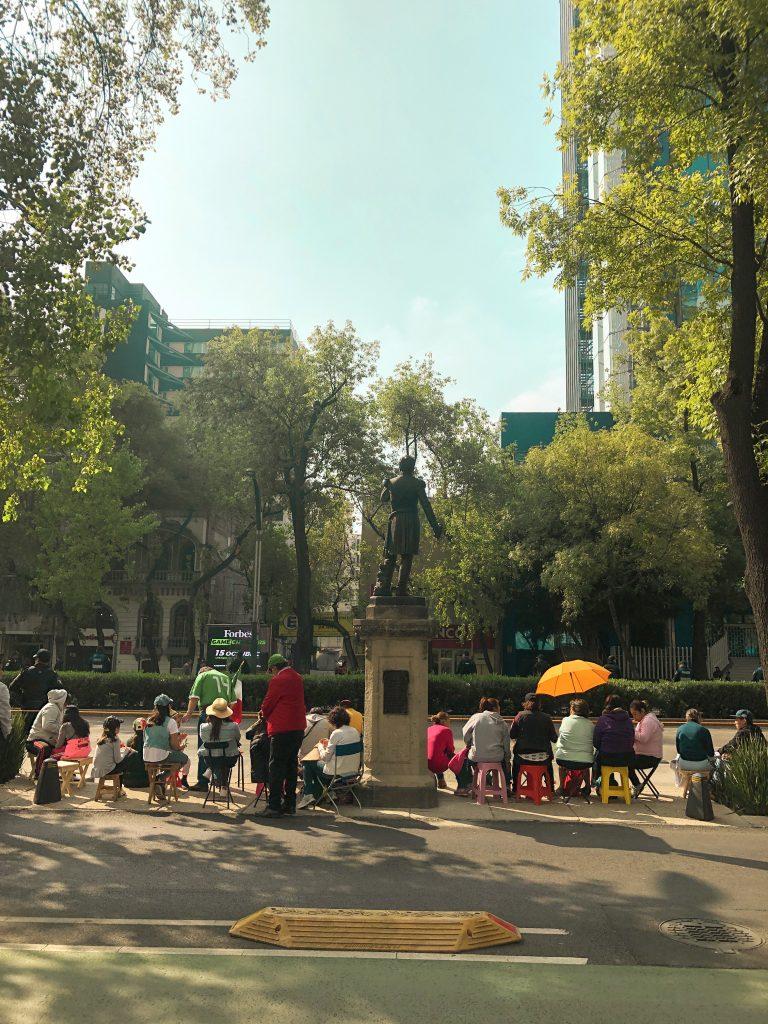 meksika sokakları