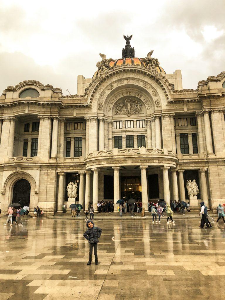 mexico city güzel sanatlar sarayı