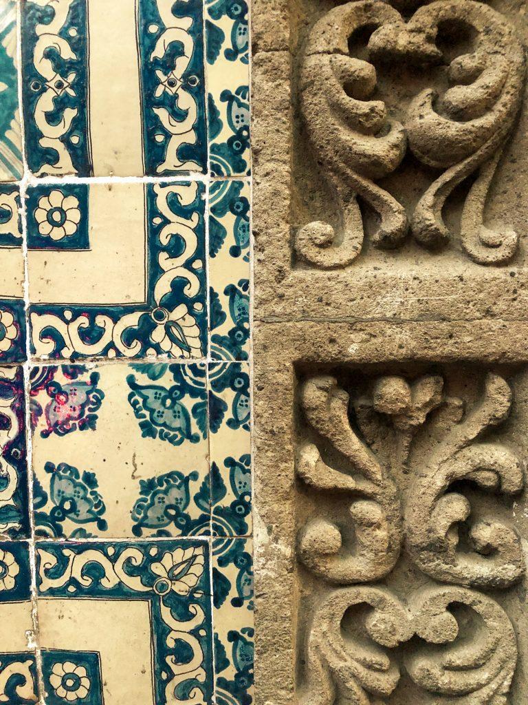 meksika casa de los azulejos duvarı