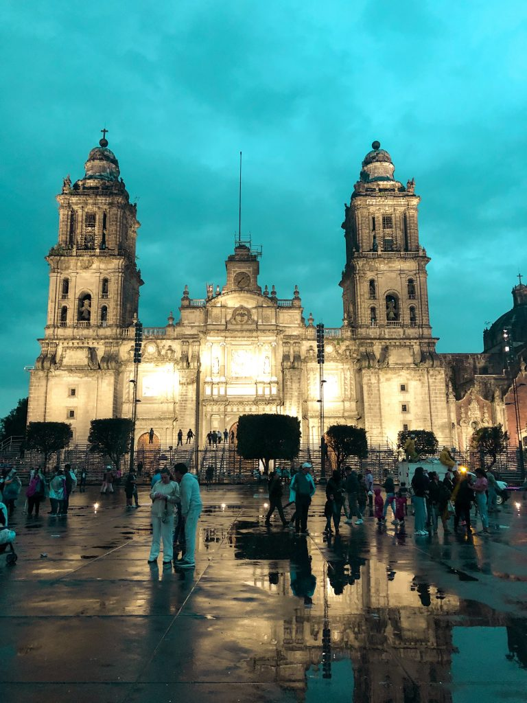 metropolitana katedrali mexico city zocalo