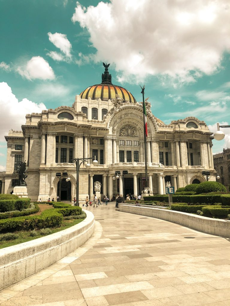 mexico city bellas arte